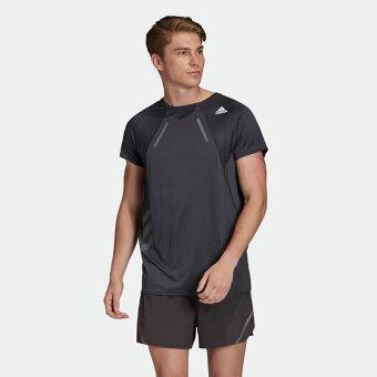 【公式】アディダス adidas ランニング HEAT.RDY Tシャツ / HEAT.RDY Tee メンズ ウェア トップス Tシャツ 黒 ブラック EK3052 sportsday_4 ランニングウェア 半袖