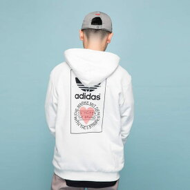 【公式】アディダス adidas パーカー オリジナルス レディース メンズ ウェア トップス パーカー スウェット 白 ホワイト GK7163 トレーナー valentine whiteday