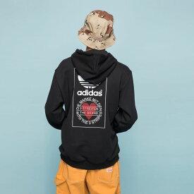 【公式】アディダス adidas パーカー オリジナルス レディース メンズ ウェア トップス パーカー スウェット 黒 ブラック GK7164 トレーナー valentine whiteday