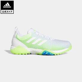 【公式】アディダス adidas 返品可 ゴルフ コードカオス/ Codechaos Golf メンズ シューズ スポーツシューズ 白 ホワイト EE9101 notp coupon対象0429