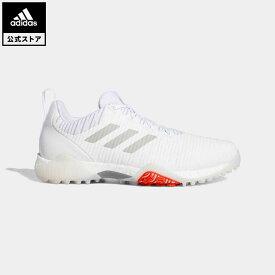 【公式】アディダス adidas 返品可 ゴルフ コードカオス/ Codechaos Golf メンズ シューズ・靴 スポーツシューズ 白 ホワイト EE9102 notp