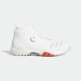 【公式】アディダス adidas ゴルフ コードカオス ボア【ゴルフ】/ CodeChaos Boa Golf Shoes メンズ シューズ スポーツシューズ 白 ホワイト EE9106 スパイクレス