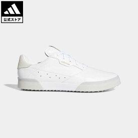 【公式】アディダス adidas ゴルフ アディクロス レトロ【ゴルフ】 メンズ シューズ スポーツシューズ 白 ホワイト EE9162