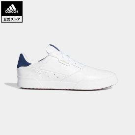 【公式】アディダス adidas ゴルフ アディクロス レトロ / Adicross Retro Golf Shoes メンズ シューズ スポーツシューズ 白 ホワイト EE9164 notp