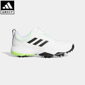 【公式】アディダス adidas 返品可 ゴルフ ジュニア コードカオス ボア / CodeChaos Boa Golf Shoes キッズ シューズ・靴 スポーツシューズ 白 ホワイト EF1219 notp