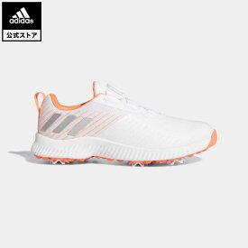 【公式】アディダス adidas ゴルフ ウィメンズ レスポンス バウンス ボア 2【ゴルフ】 レディース シューズ スポーツシューズ 白 ホワイト EF2012