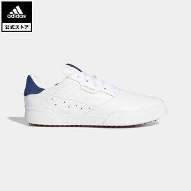 【公式】アディダス adidas ゴルフ ウィメンズ アディクロス レトロ【ゴルフ】 レディース シューズ スポーツシューズ 白 ホワイト EG9061