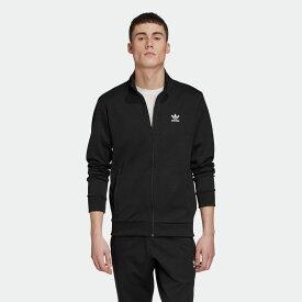 【公式】アディダス adidas トレフォイル エッセンシャルズ トラックジャケット オリジナルス メンズ ウェア トップス ジャージ 黒 ブラック GE5138 p1030