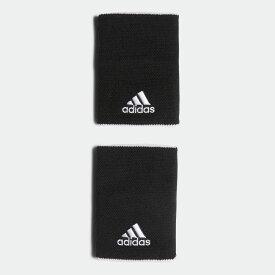 【公式】アディダス adidas テニス テニス リストバンド ラージ / Tennis Wristband Large レディース メンズ アクセサリー リストバンド 黒 ブラック FK0916