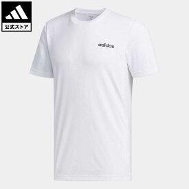 【公式】アディダス adidas 返品可 ジム・トレーニング デザイン 2 ムーブ プレーン 半袖Tシャツ / Designed 2 Move Plain Tee メンズ ウェア トップス Tシャツ 白 ホワイト FL0288 半袖