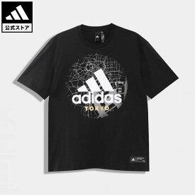 【公式】アディダス adidas 返品可 M KC Tee Bcarriers アスレティクス メンズ ウェア・服 トップス Tシャツ 黒 ブラック GC9106 半袖