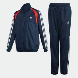 【公式】アディダス adidas ウーブン トラックスーツ(ジャージセットアップ) / Woven Track Suit キッズ ボーイズ ジム・トレーニング ウェア セットアップ ジャージ FL1397 moress