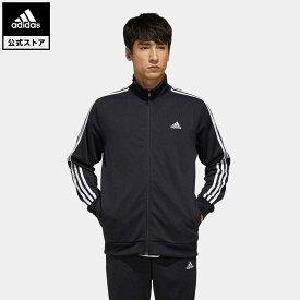 【公式】アディダス adidas 返品可 マストハブ 3ストライプス ジャケット / Must Haves 3-Stripes Jacket アスレティクス メンズ ウェア・服 アウター ジャケット ジャージ 黒 ブラック FM5313