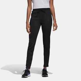 【公式】アディダス adidas ハイウエスト スリム パンツ / High-Waisted Slim Pants アスレティクス レディース ウェア ボトムス パンツ 黒 ブラック FP7971