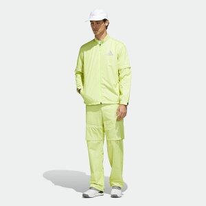 【公式】アディダス adidas ゴルフ ADIDAS ハイストレッチレインスーツ 【ゴルフ】/ Rain Suit メンズ ウェア セットアップ イエロー FI7904 上下