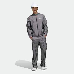 【公式】アディダス adidas ゴルフ ADIDAS ハイストレッチレインスーツ 【ゴルフ】/ Rain Suit メンズ ウェア セットアップ 黒 ブラック FI7905 上下 p1126