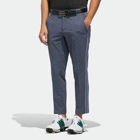 【公式】アディダス adidas スリーストライプス メランジクロップドパンツ【ゴルフ】 メンズ ゴルフ ウェア ボトムス パンツ FJ6442