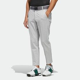 【公式】アディダス adidas ゴルフ スリーストライプス メランジクロップドパンツ【ゴルフ】 メンズ ウェア ボトムス パンツ グレー FJ6443