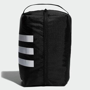 【公式】アディダス adidas ゴルフ 3ストライプシューズバッグ【ゴルフ】/ Shoe Bag メンズ アクセサリー バッグ シューズバッグ 黒 ブラック FM4199 シューズケース