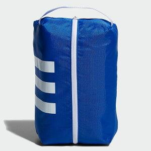 【公式】アディダス adidas ゴルフ 3ストライプシューズバッグ【ゴルフ】/ Shoe Bag メンズ アクセサリー バッグ シューズバッグ 青 ブルー FM4200 シューズケース p1126