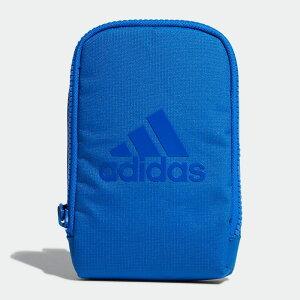 【公式】アディダス adidas ゴルフ アクセサリーポーチ【ゴルフ】 メンズ アクセサリー バッグ ポーチ 青 ブルー FM4202 ショルダーバッグ