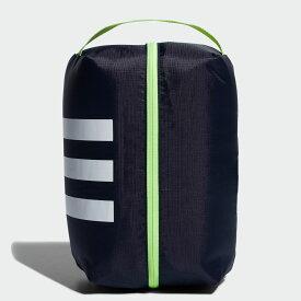 【公式】アディダス adidas ゴルフ 3ストライプシューズバッグ【ゴルフ】 メンズ アクセサリー バッグ シューズバッグ 青 ブルー FM4224 シューズケース