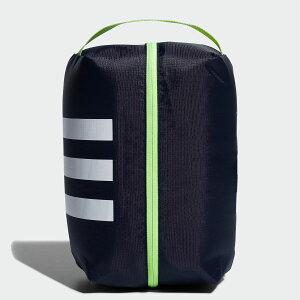 【公式】アディダス adidas ゴルフ 3ストライプシューズバッグ【ゴルフ】 メンズ アクセサリー バッグ シューズバッグ 青 ブルー FM4224 シューズケース p1204