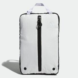 【公式】アディダス adidas ゴルフ シューズバッグ 【ゴルフ】/ Shoe Bag メンズ アクセサリー バッグ シューズバッグ 白 ホワイト FM4230 シューズケース