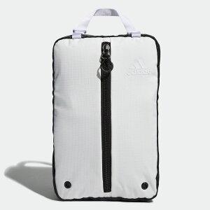 【公式】アディダス adidas ゴルフ シューズバッグ 【ゴルフ】/ Shoe Bag メンズ アクセサリー バッグ シューズバッグ 白 ホワイト FM4230 シューズケース p1126