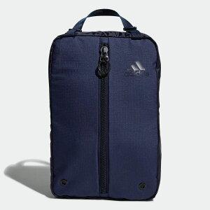 【公式】アディダス adidas ゴルフ シューズバッグ 【ゴルフ】/ Shoe Bag メンズ アクセサリー バッグ シューズバッグ 青 ブルー FM4235 シューズケース p1204