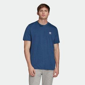 【公式】アディダス adidas トレフォイル エッセンシャルズ 半袖Tシャツ オリジナルス レディース メンズ ウェア トップス Tシャツ 青 ブルー FM9967 半袖
