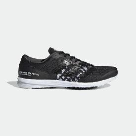 【公式】アディダス adidas ランニング adizero Takumi Sen 6 レディース メンズ シューズ スポーツシューズ 黒 ブラック FX8965 スパイクレス ランニングシューズ