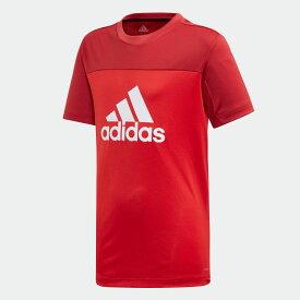 【公式】アディダス adidas 子供用 Equipment Tシャツ [Equipment Tee] キッズ ボーイズ ジム・トレーニング ウェア トップス Tシャツ ED6344