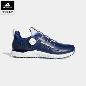 【公式】アディダス adidas ゴルフ アディクロス バウンス ボア / Adicross Bounce BOA 2.0 Golf Shoes メンズ シューズ スポーツシューズ 青 ブルー EE9154