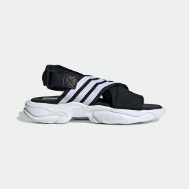 【公式】アディダス adidas Magmur サンダル / Magmur Sandals オリジナルス レディース メンズ シューズ サンダル 黒 ブラック EF5863