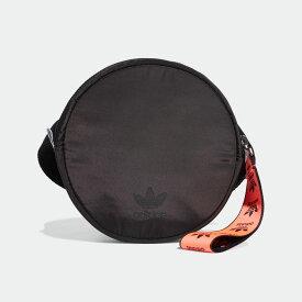 【公式】アディダス adidas ラウンド ウエストバッグ オリジナルス レディース アクセサリー バッグ ウエストバッグ 黒 ブラック FL9617 ウエストポーチ ボディバッグ