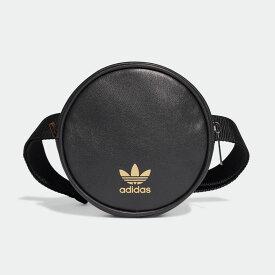 【公式】アディダス adidas ラウンド ウエストバッグ オリジナルス レディース アクセサリー バッグ ウエストバッグ 黒 ブラック FL9628 ボディバッグ ウエストポーチ