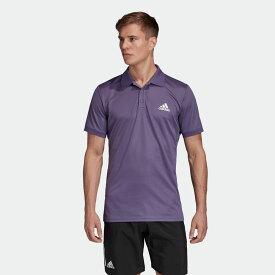 【公式】アディダス adidas クラブ 無地ポロシャツ / Club Solid Polo Shirt メンズ テニス ウェア トップス ポロシャツ FM0228 p0705