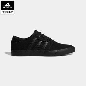 【公式】アディダス adidas シーリー / Seeley オリジナルス レディース メンズ シューズ スニーカー 黒 ブラック AQ8531 ローカット