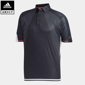 【公式】アディダス adidas ゴルフ シングルパネル 半袖ボタンダウンシャツ【ゴルフ】 メンズ ウェア トップス ポロシャツ 黒 ブラック FJ3801