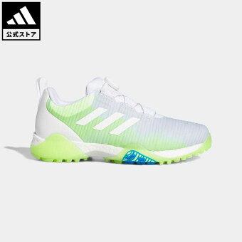 【公式】アディダス adidas ゴルフ コードカオス ボア ロウ/ CodeChaos Boa Low Golf Shoes メンズ シューズ スポーツシューズ 白 ホワイト FV2521 notp