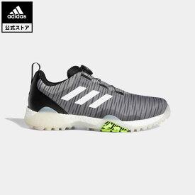 【公式】アディダス adidas 返品可 ゴルフ コードカオス ボア ロウ/ CodeChaos Boa Low Golf Shoes メンズ シューズ・靴 スポーツシューズ グレー FV2523 notp