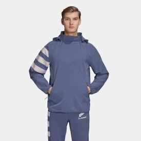 【公式】アディダス adidas ラグビー オールブラックス オールウェザー ジャケット / All Blacks All-Weather Jacket メンズ ウェア アウター ジャケット 青 ブルー EH5571