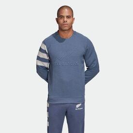 【公式】アディダス adidas ラグビー オールブラックス クルーネック スウェットシャツ / All Blacks Crewneck Sweatshirt メンズ ウェア トップス スウェット 青 ブルー EH5574