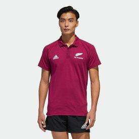 【公式】アディダス adidas オールブラックス PRIMEBLUE ポロシャツ / All Blacks Primeblue Polo Shirt メンズ ラグビー ウェア トップス ポロシャツ EH5582