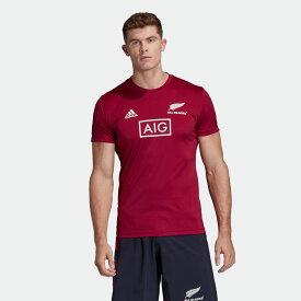 【公式】アディダス adidas オールブラックス PRIMEBLUE パフォーマンス 半袖Tシャツ / All Blacks Primeblue Performance Tee メンズ ラグビー ウェア トップス Tシャツ EH5579
