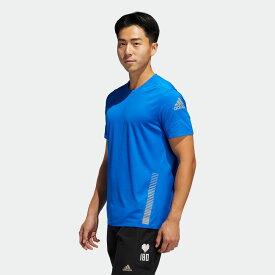 【公式】アディダス adidas ランニング Parley Tシャツ [25/7 Rise Up N Run Parley Tee] メンズ ウェア トップス Tシャツ 青 ブルー FL6814 ランニングウェア 半袖