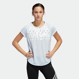 【公式】アディダス adidas ランニング オウン ザ ラン グラフィック Tシャツ / Own the Run Graphic Tee レディース ウェア トップス Tシャツ 青 ブルー FL8604 ランニングウェア 半袖 p0122