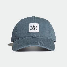 【公式】アディダス adidas ウォッシュド ダッド キャップ [Washed Dad Cap] オリジナルス レディース メンズ アクセサリー 帽子 キャップ 青 ブルー FM1669