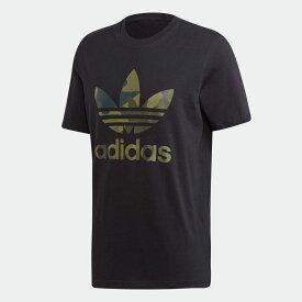 【公式】アディダス adidas カモフラージュ 半袖Tシャツ オリジナルス メンズ ウェア トップス Tシャツ 黒 ブラック FM3338 半袖